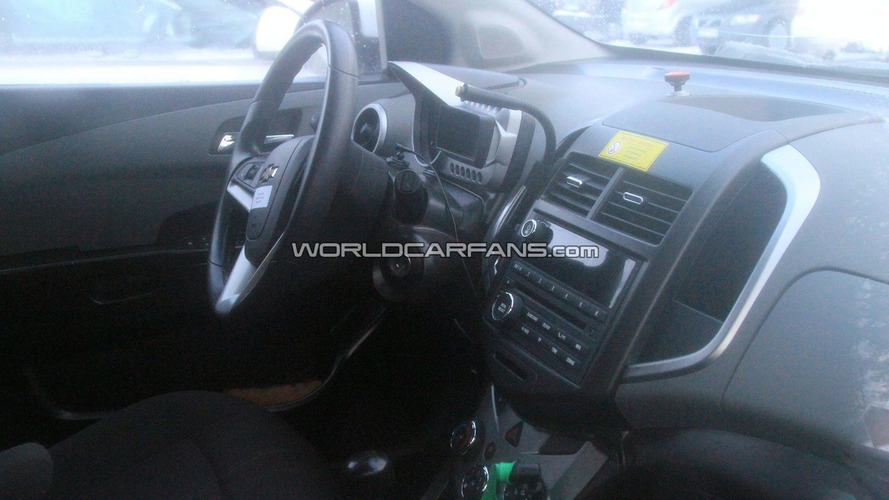 2011 Chevrolet Aveo Spied Winter Testing