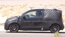 Volkswagen Lupo / Up full body prototype first spy photos 27.08.2010
