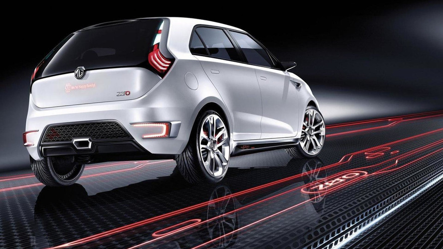 UK-designed MG ZERO concept car revealed in Beijing