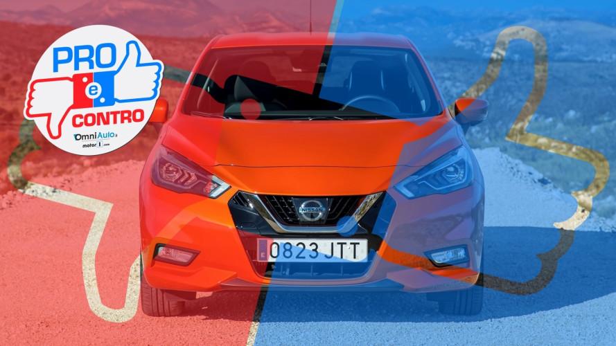 Nissan Micra 1.0, Pro & Contro