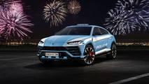 Lamborghini Urus polis aracı render