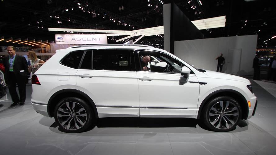 Volkswagen Debuts Stylish R-Line Trim For 2018 Tiguan