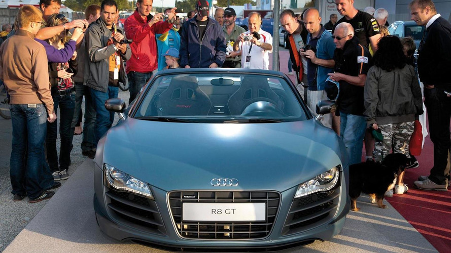 Audi R8 GT Spyder officially unveiled at Le Mans
