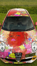 Alfa Romeo Mito Art Car - 15.7.2011