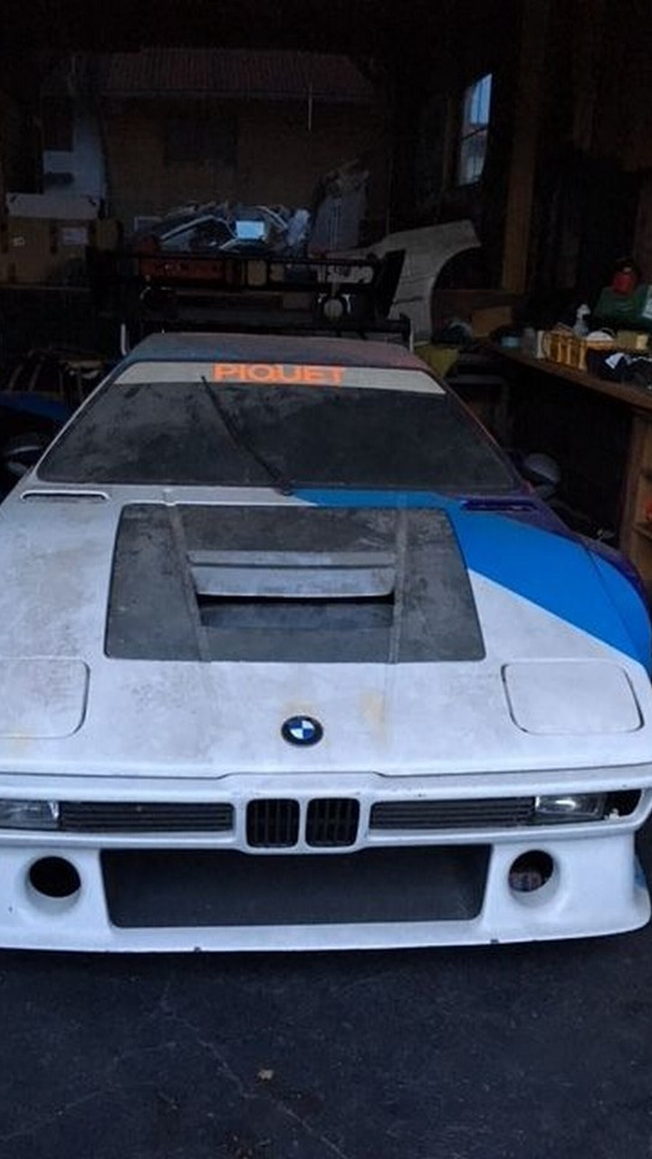First BMW M1 prototype