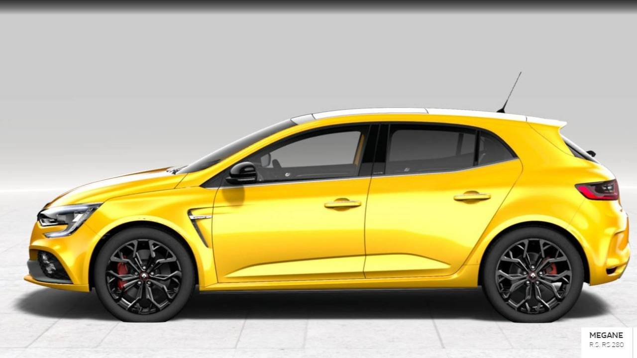 Mégane RS config