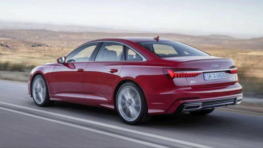 Are these official images of the new Audi A6?