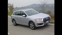 Audi Q7 e-tron, test di consumo reale Roma-Forlì