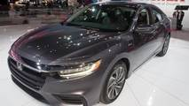 2019 Honda Insight at the 2018 New York Auto Show