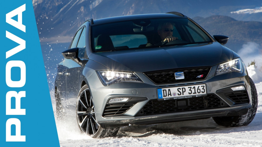 Seat 4Drive, sulla neve tra offroad e traversi