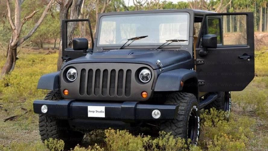 Gözlerinize inanmayın, bu bir Jeep Wrangler değil