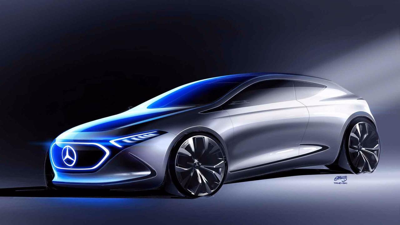 Mercedes-Benz EQ A Teaser eskiz