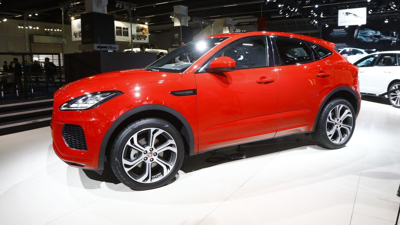 new jaguar e pace small suv revealed in london. Black Bedroom Furniture Sets. Home Design Ideas
