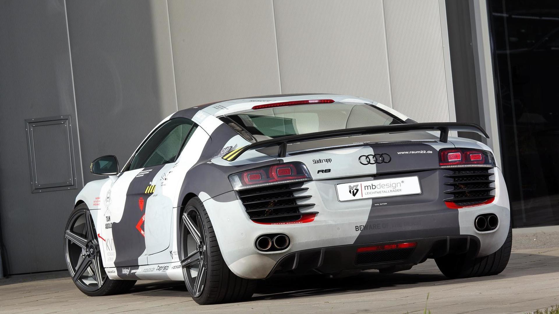 Audi R8 V8. Тюнинг от mbDESIGN