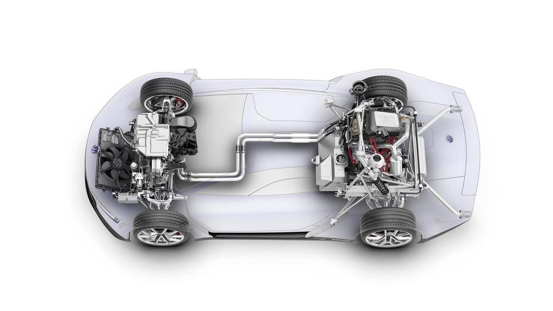 VW XL Sport: автомобиль с мотоциклетным двигателем Ducati
