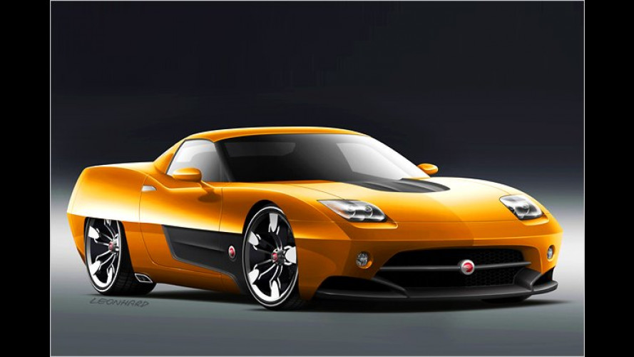 Endora SC-1: Coke-Bottle-Schwung und Corvette-Power