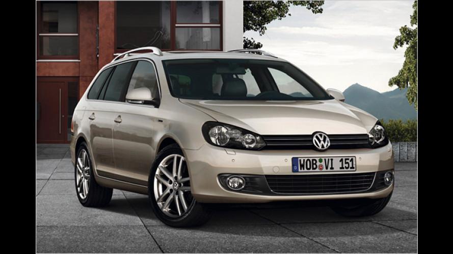 Edler Kombi: VW Golf Variant Exclusive mit feinem Leder