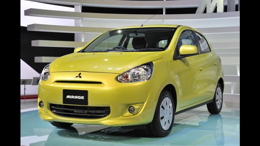 Mitsubishi confirma chegada do compacto Mirage aos Estados Unidos