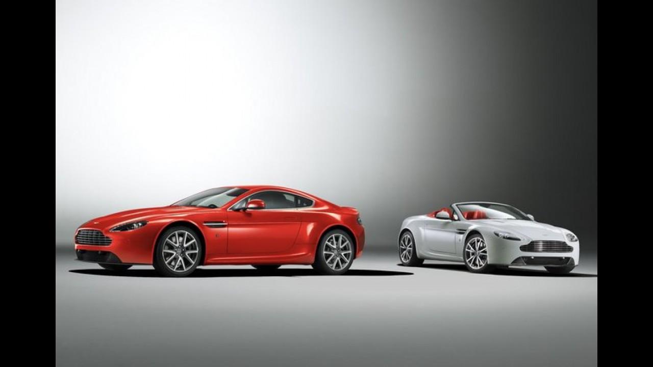 Aston Martin Vantage V8 é revelado após reestilização