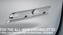 2013 Chevrolet SS teaser photo