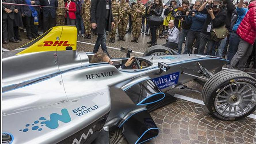 Il Motor Show riparte in Formula E [VIDEO]