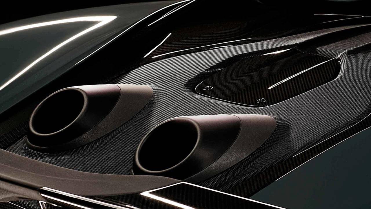 McLaren Top-Exit Exhaust Teaser