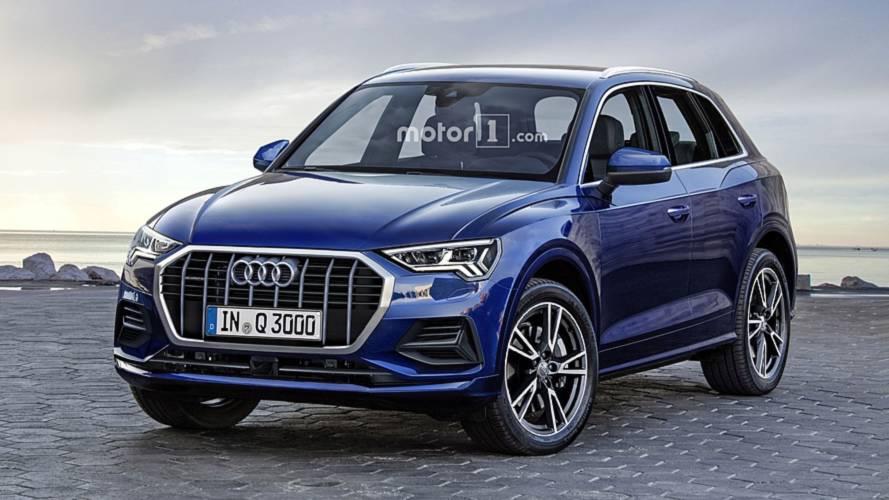 Projeção: Novo Audi Q3 2019 ficará maior e mais equipado
