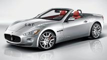 Maserati Spyder artist rendering