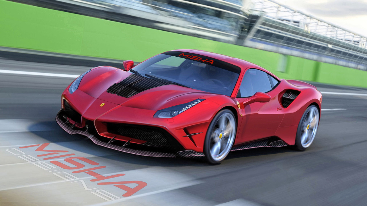 Ferrari 488 GTB by Misha Design