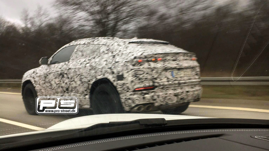 Photos espion - Le Lamborghini Urus enfin surpris !