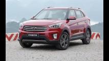 Aguardado no Brasil, Hyundai Creta já emplaca mais de 7 mil por mês na Índia