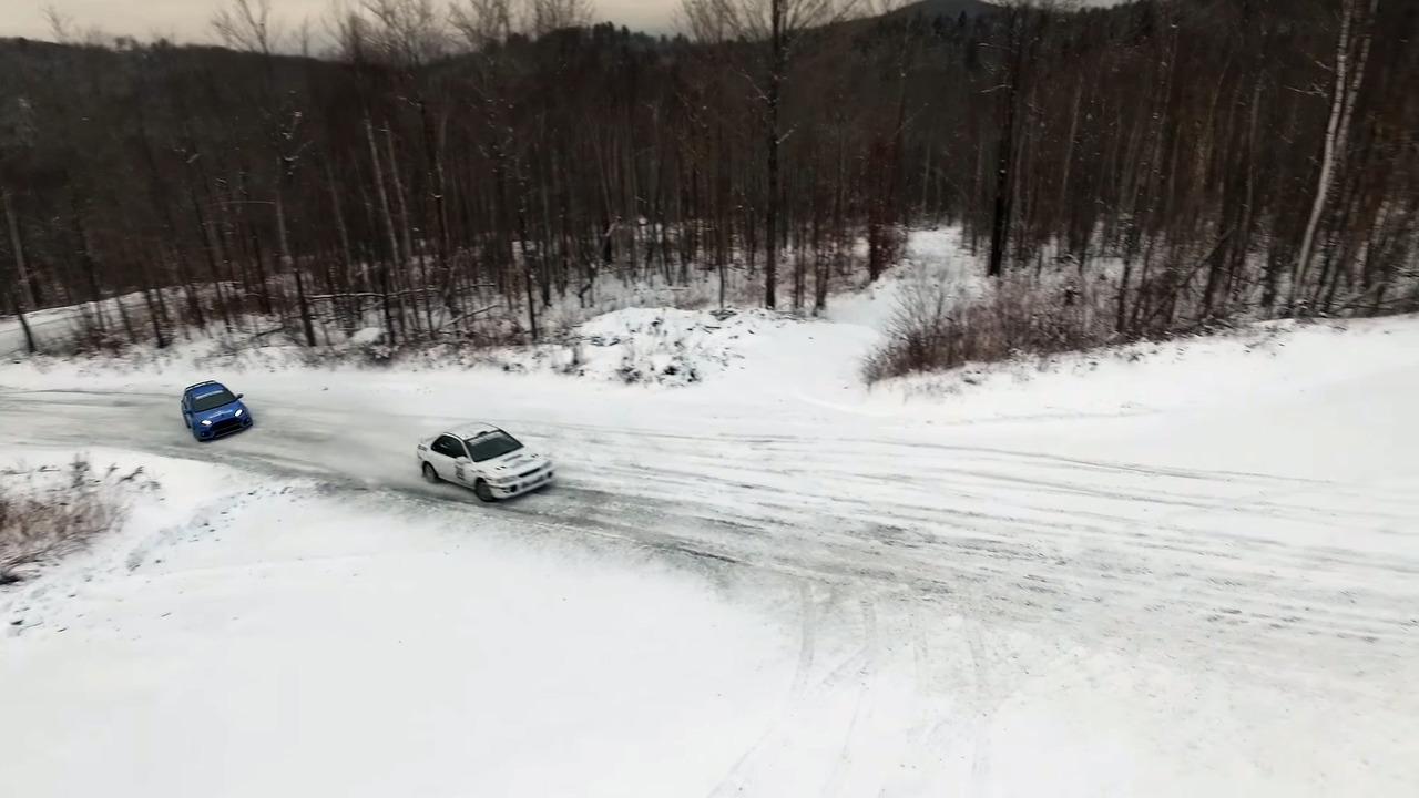 2017 - Ford Focus RS 2000 - Subaru Impreza