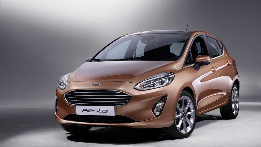 Ford Fiesta 2017 marrón