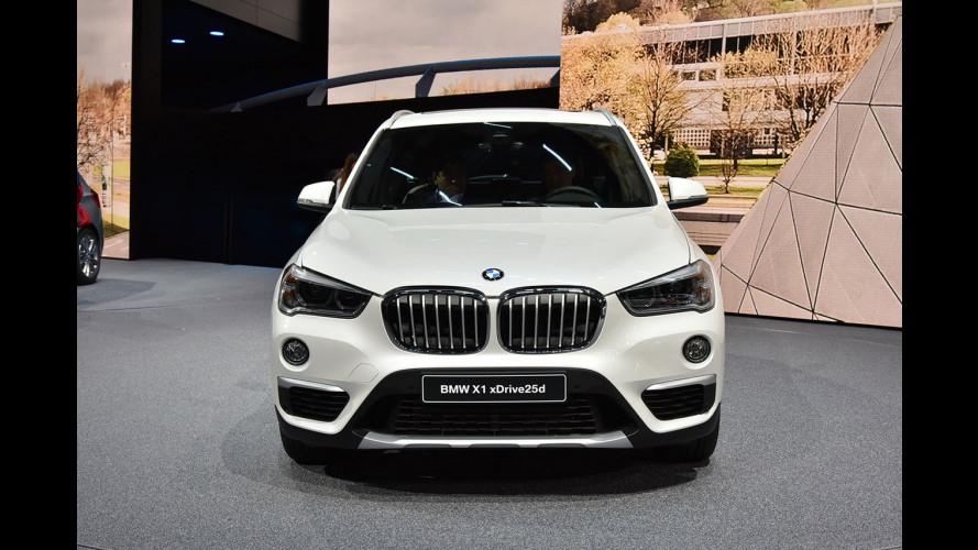 Salone di Francoforte, tanto spazio a bordo per la nuova BMW X1 [VIDEO]