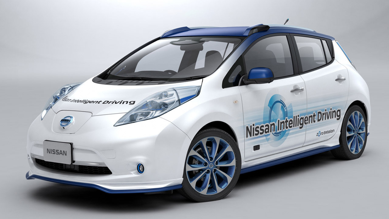 Nissan Intelligent Driving 2015
