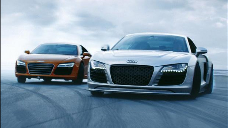 Toyo Tires, drift spettacolare su Audi R8 [VIDEO]