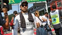 Sergio Perez, Sahara Force India F1 on the grid