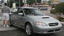 Subaru Leagcy R spec B Spy Photos