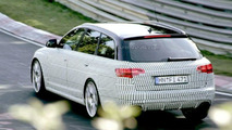New Audi RS6 Avant Nurburgring Spy Photos