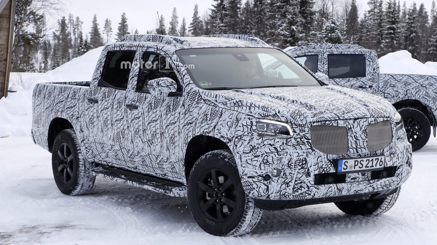 More Mercedes X-Class revealed in new spy shots