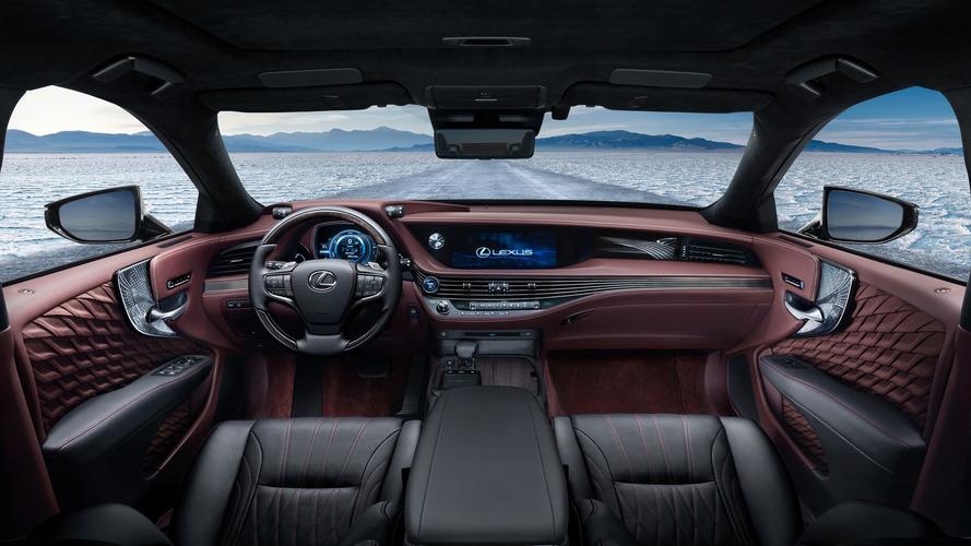 Lexus LS 500h 2017