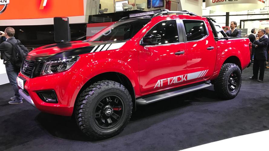 Nissan confirma nova Frontier Attack no Brasil em futuro próximo