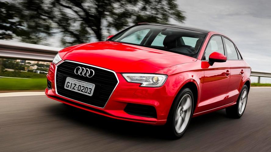 Sedãs Premium mais vendidos - Audi A3 Sedan cresce no mês, mas perde 62% no ano