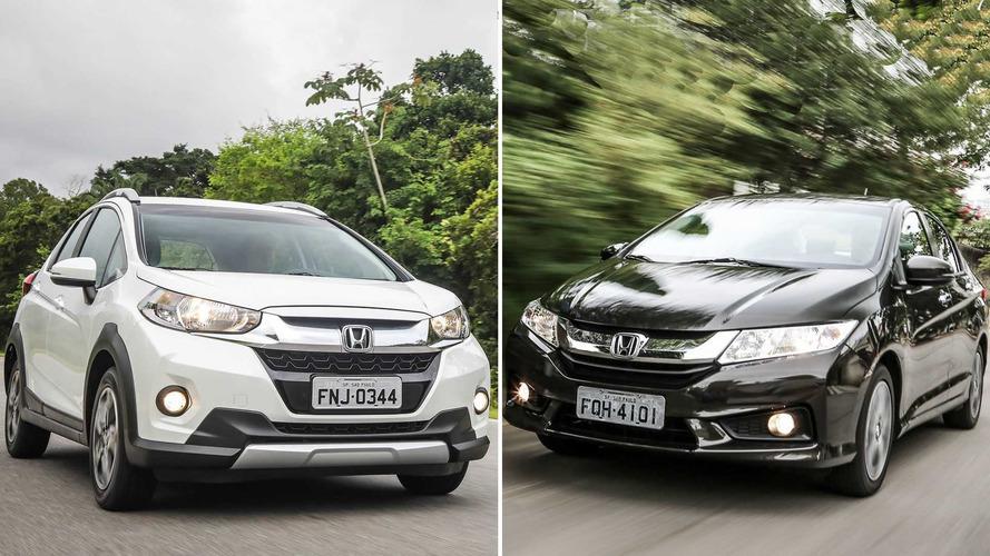 Briga em casa - Honda City EXL CVT x WR-V EXL CVT