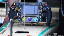 Mercedes AMG F1 W07 steering wheel