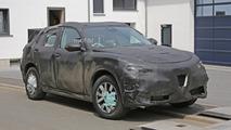 Alfa Romeo Stelvio spy photo