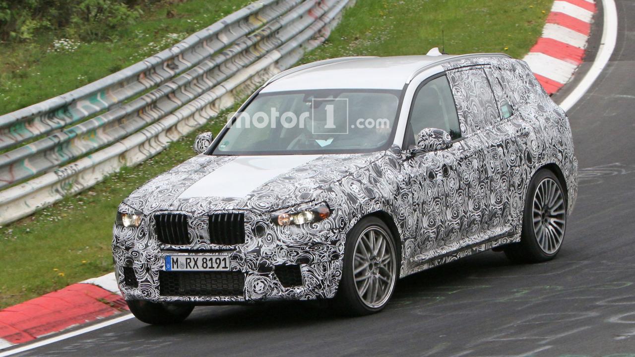 BMW X3 M casus fotoğrafları