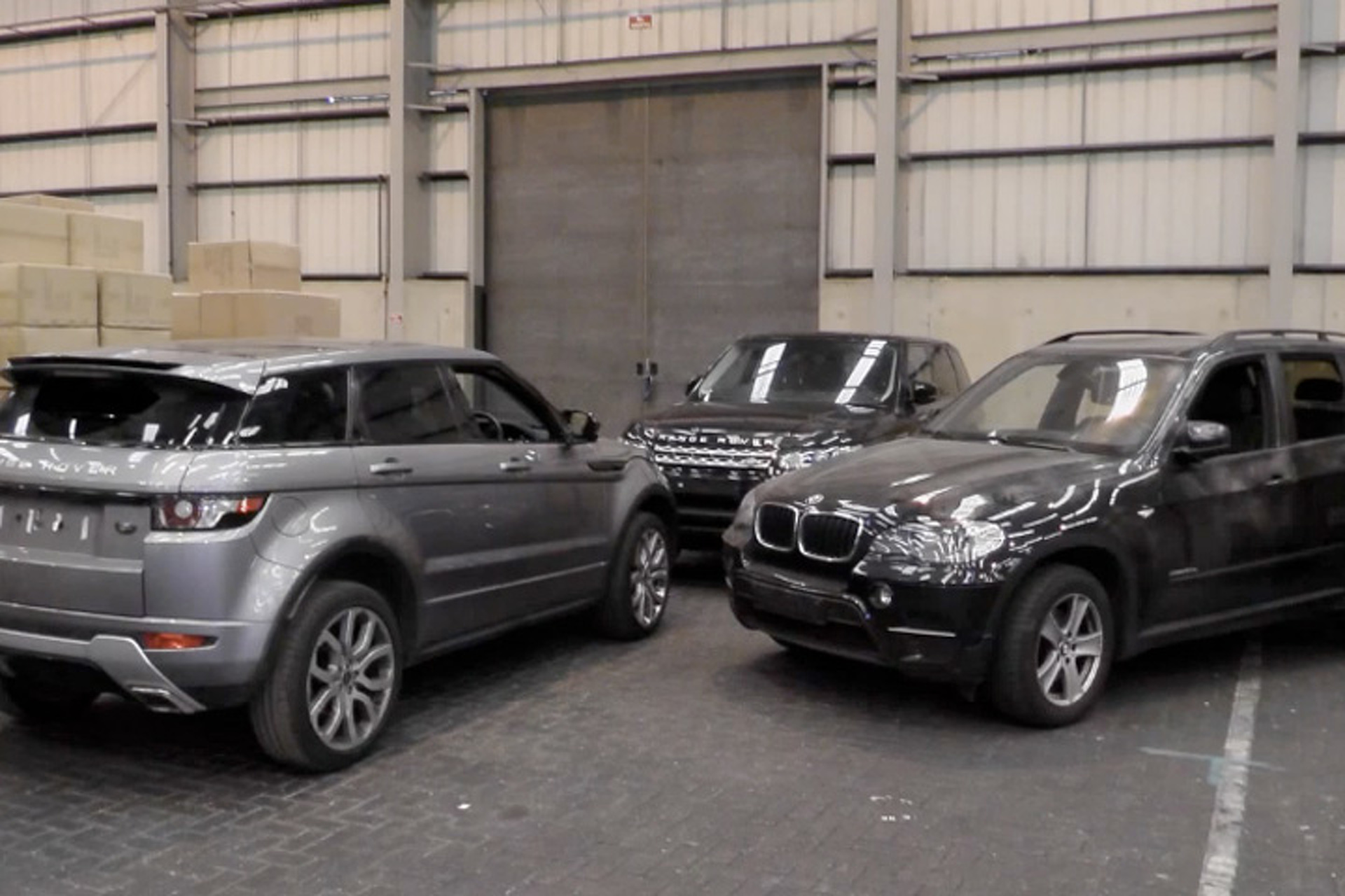 Almost $2M Worth of Stolen Luxury Cars and 4x4s Recovered