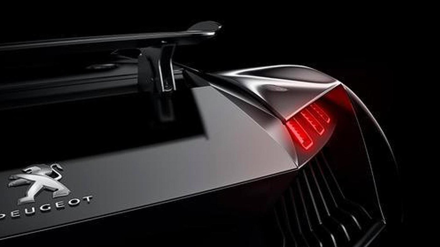 Peugeot supercar concept sketches and teaser released
