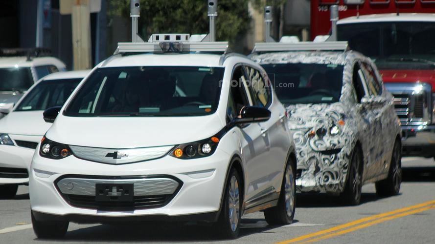 Autonomous Chevy Bolt spy photos
